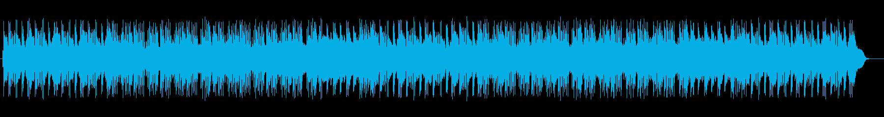 爽やかトロピカルなシンセサイザーサウンドの再生済みの波形