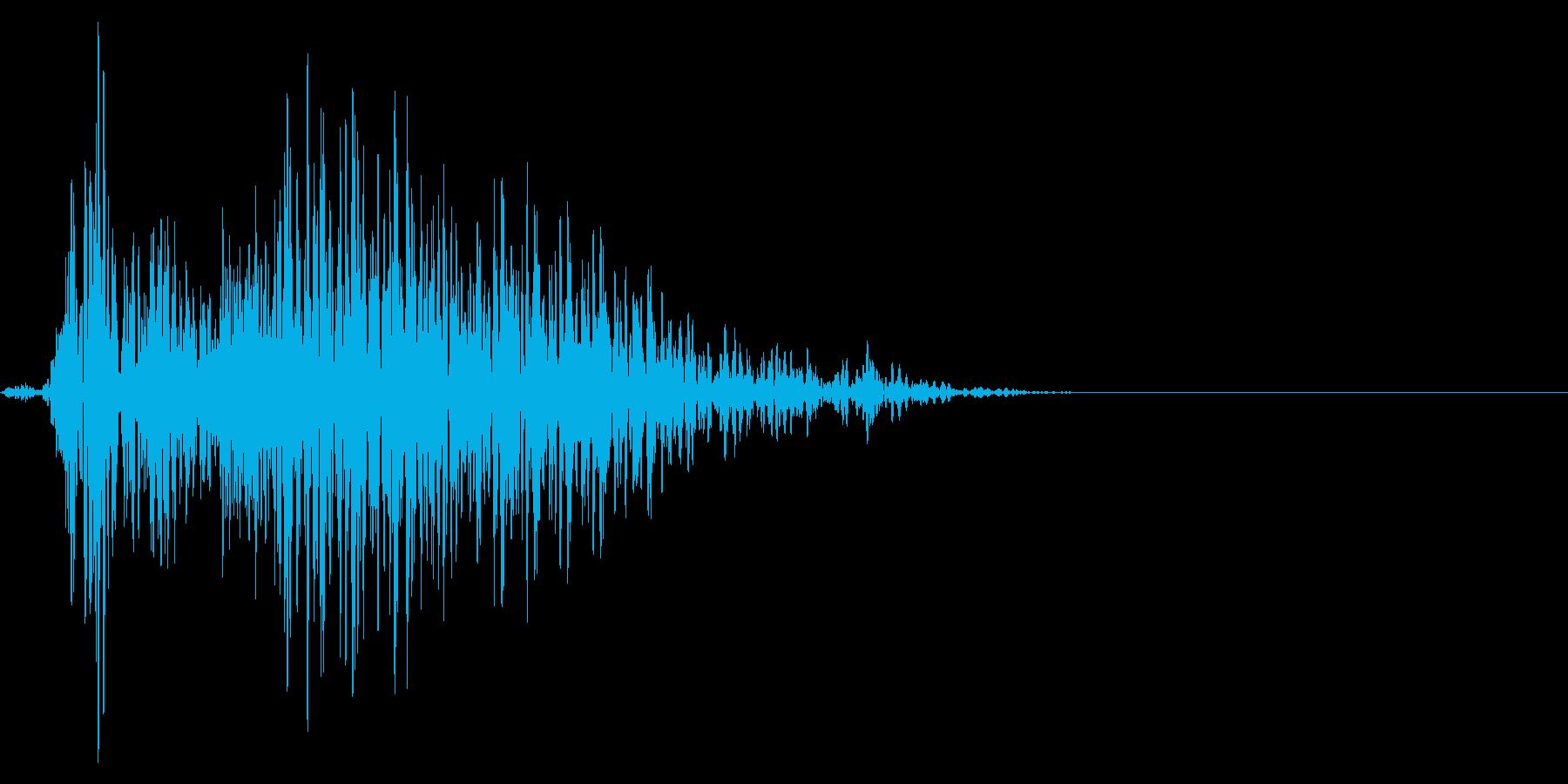 ゲーム掛け声ゾンビ1アウー3の再生済みの波形