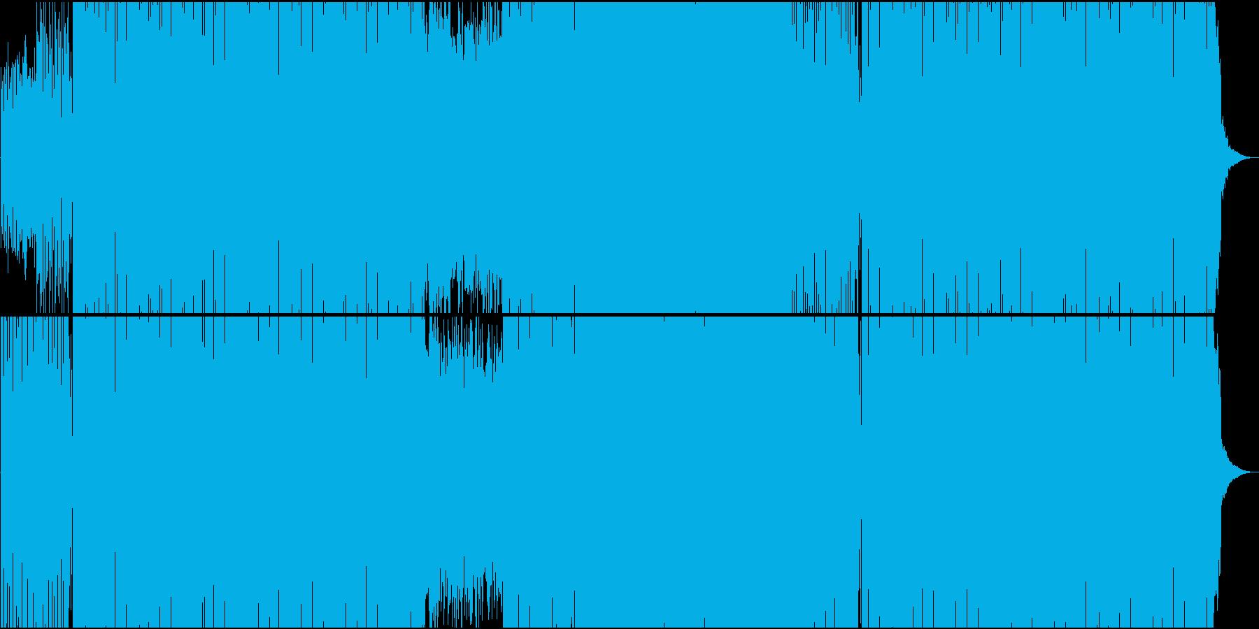 「ハバネラ/ビゼー」トランス系アレンジの再生済みの波形