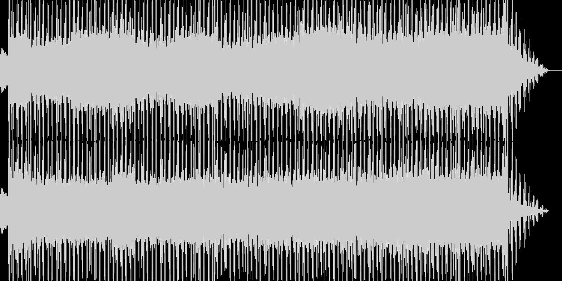 クールなトランス、テクノ♪の未再生の波形