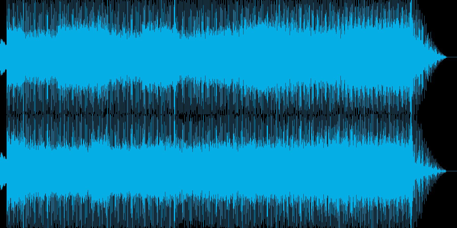 クールなトランス、テクノ♪の再生済みの波形