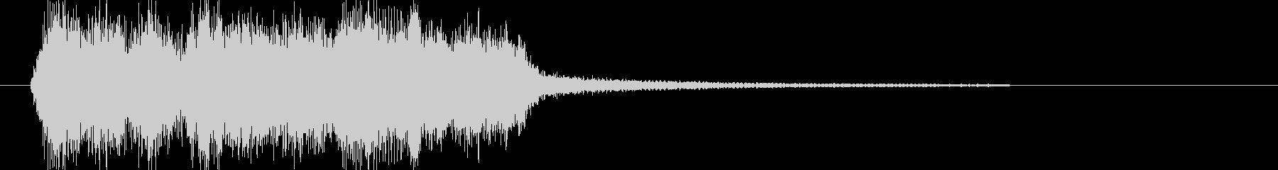 ファンファーレ レベルアップ 正解の未再生の波形