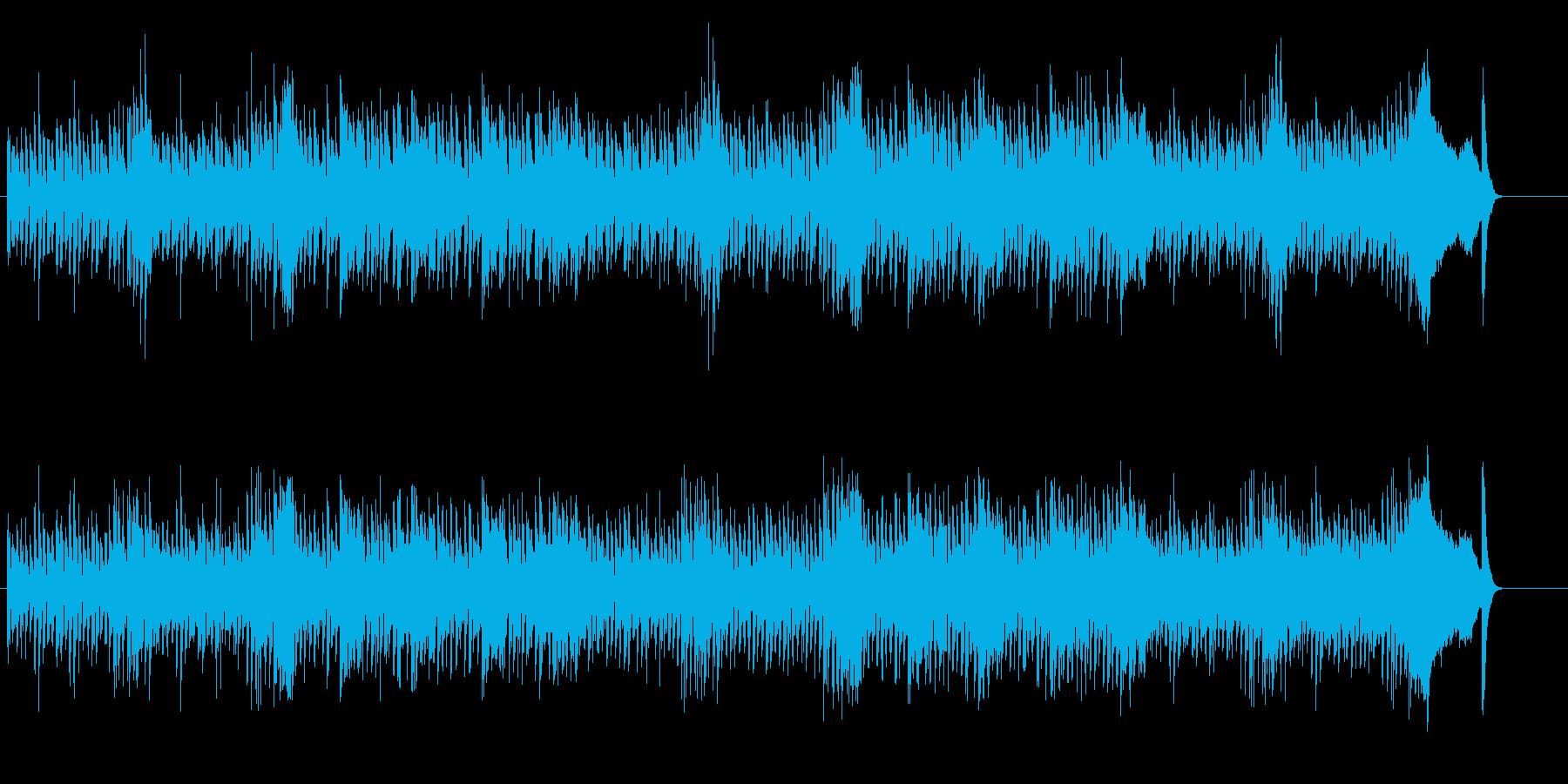 うるわしのテクノ・ポップの再生済みの波形