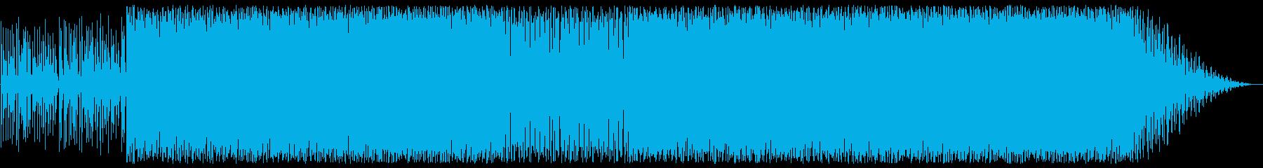 朝方に聞きたいゆっくりしたボサノバジャズの再生済みの波形