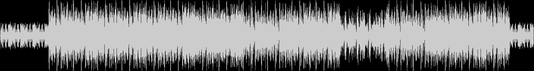 ダークヒップホップ、ダーティーヒーローの未再生の波形