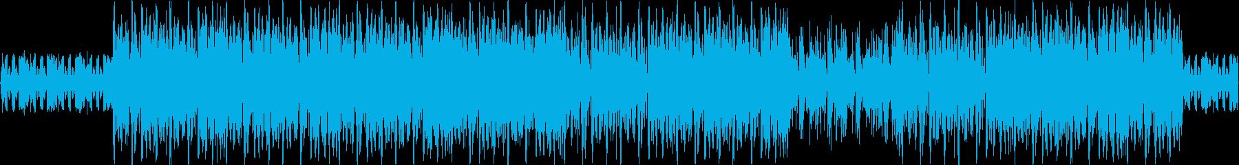 ダークヒップホップ、ダーティーヒーローの再生済みの波形