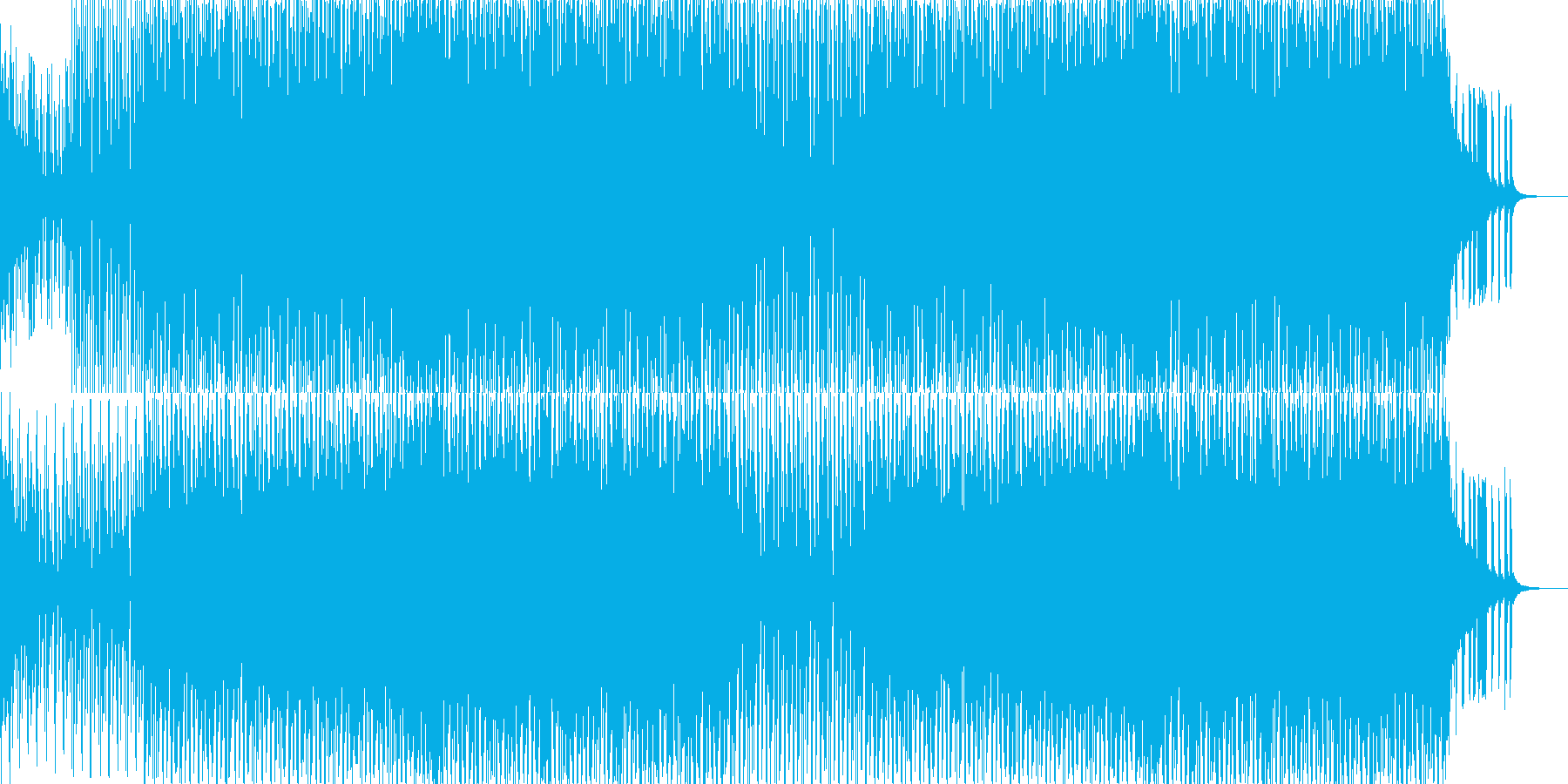 EDMポップで明るいクラブ系-64の再生済みの波形