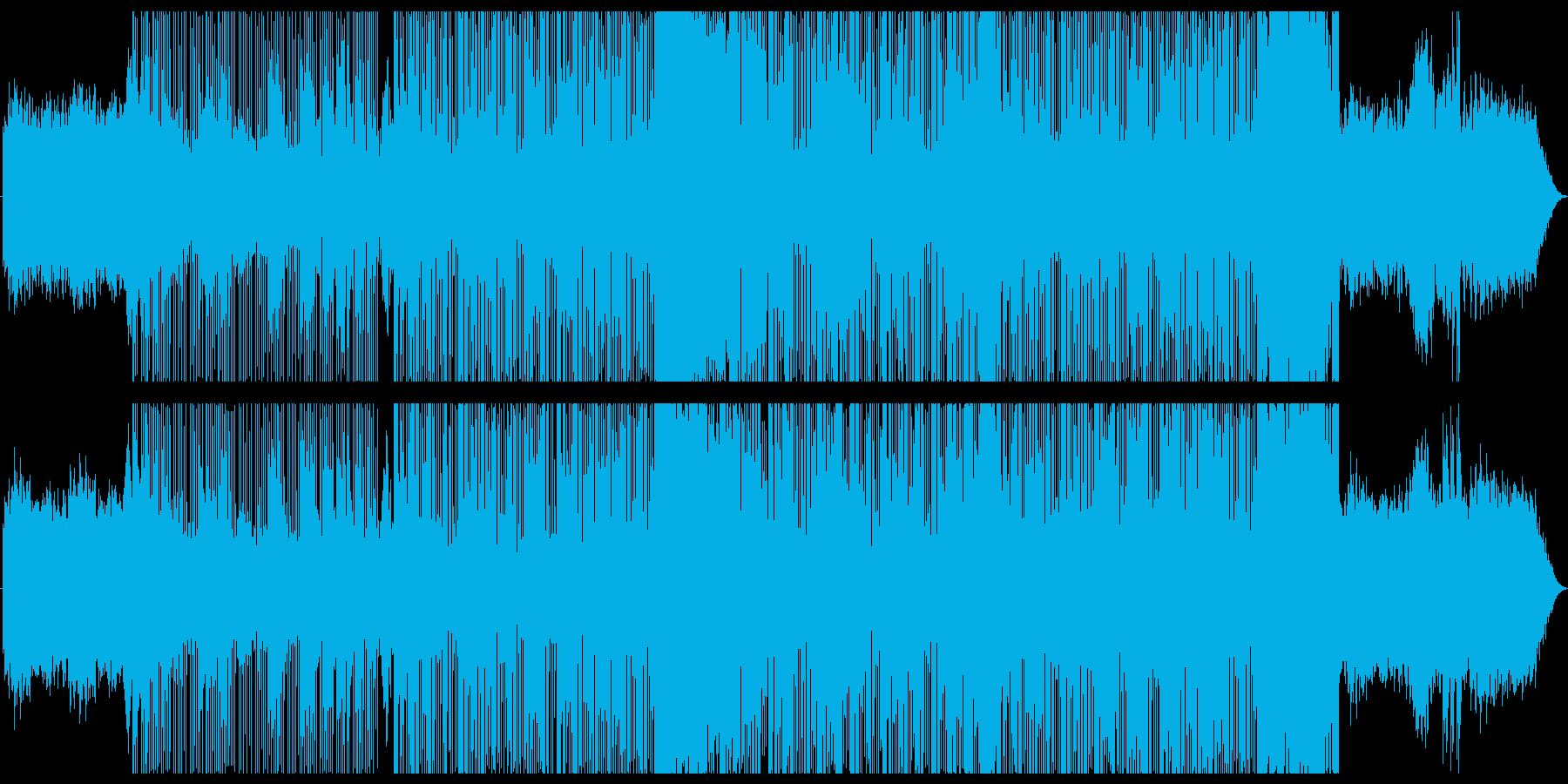 琴を使った幻想的なポップスの再生済みの波形