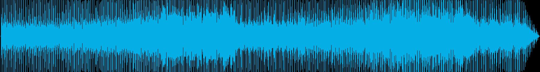 CMやBGM等様々な用途に使えるポップスの再生済みの波形