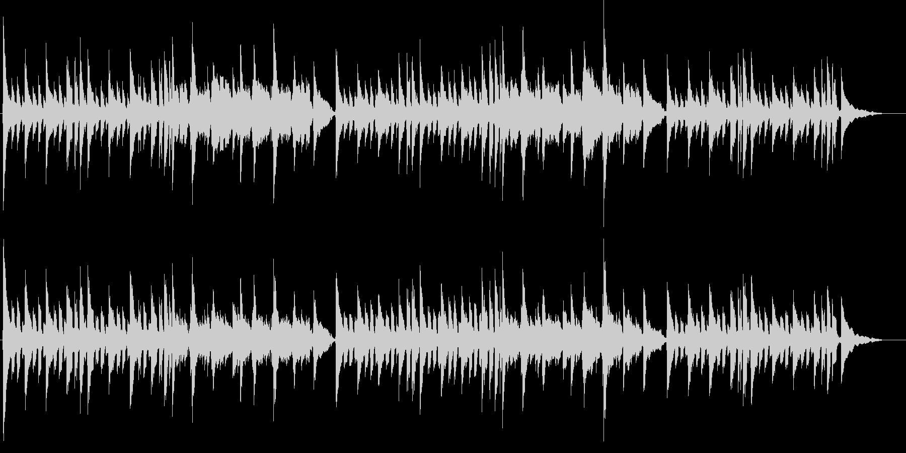 アコギ JAZZYなコードワークの未再生の波形