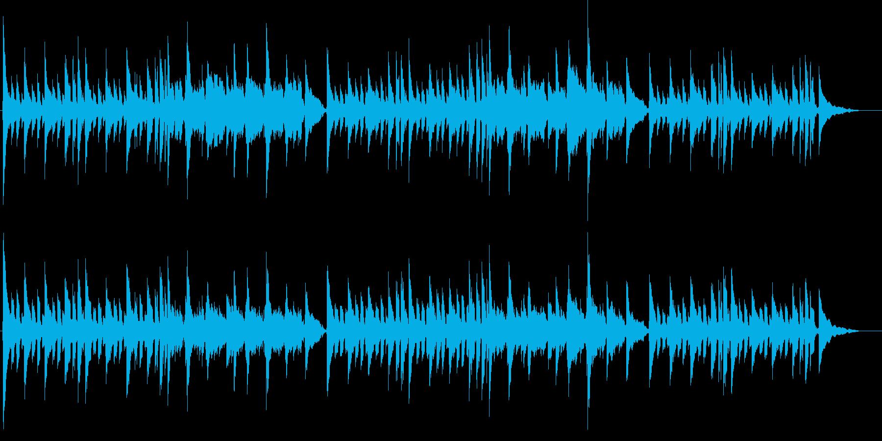 アコギ JAZZYなコードワークの再生済みの波形