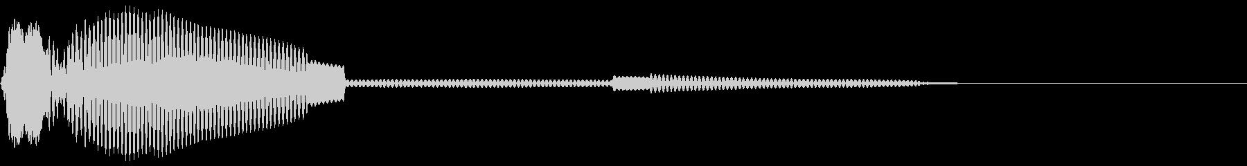 「システム効果音14_1(選択などのイ…の未再生の波形