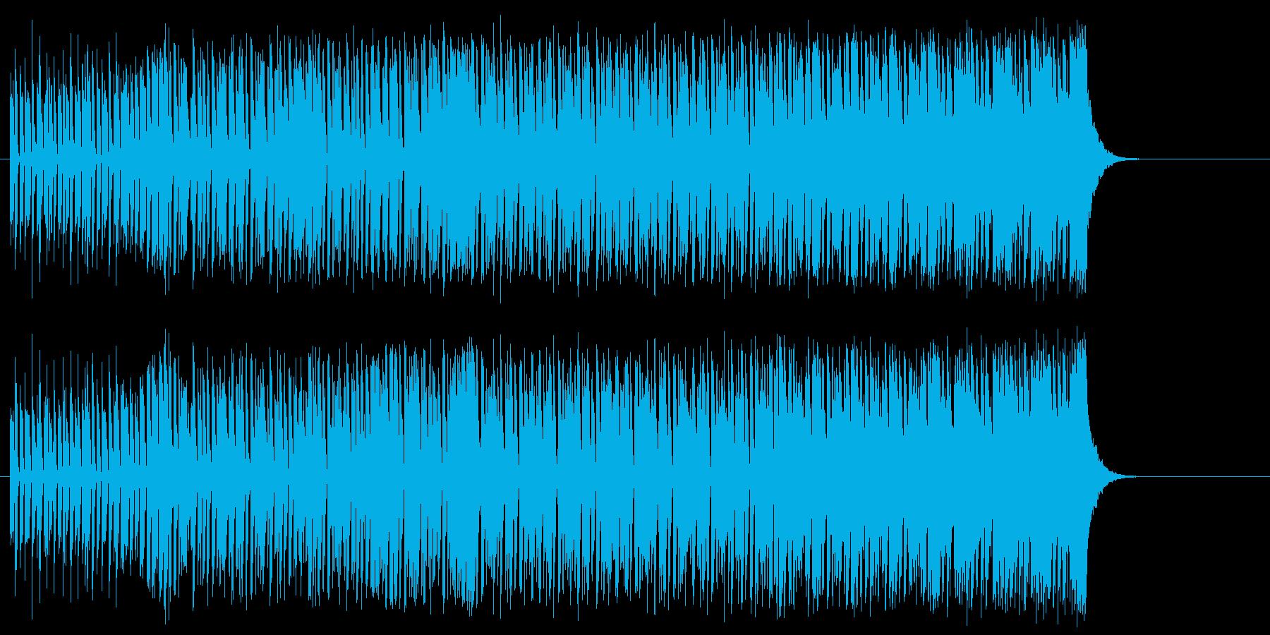 不安を抱き冷静さを失いそうになるテクノの再生済みの波形