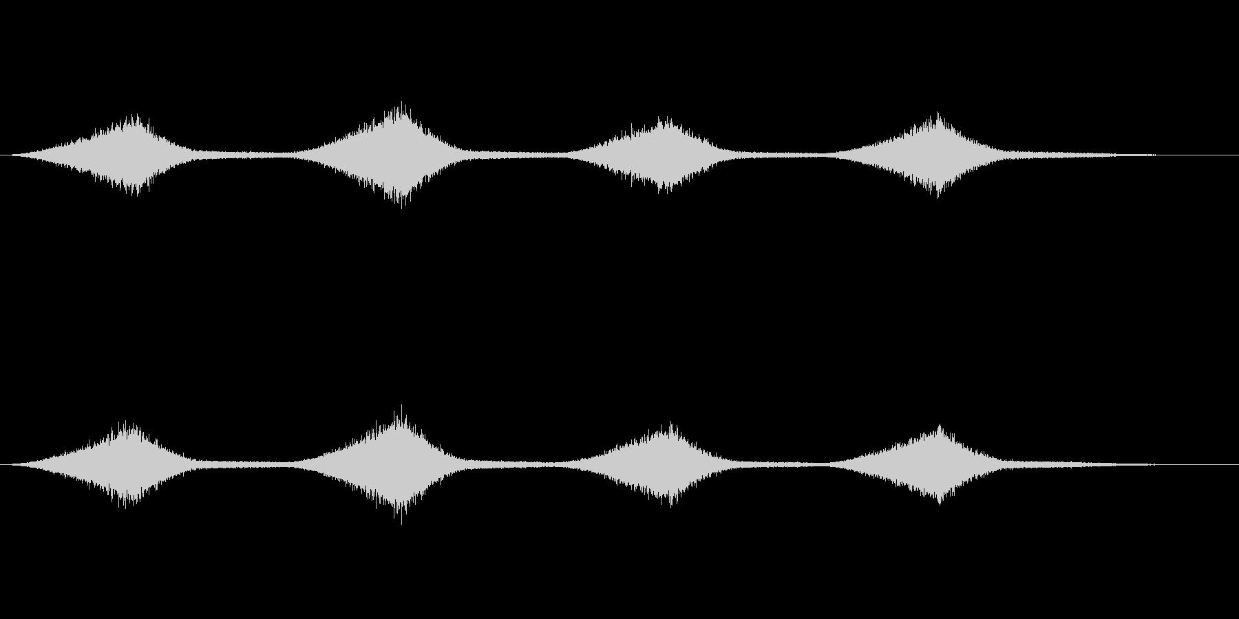 海のせせらぎの音(ザーン)の未再生の波形