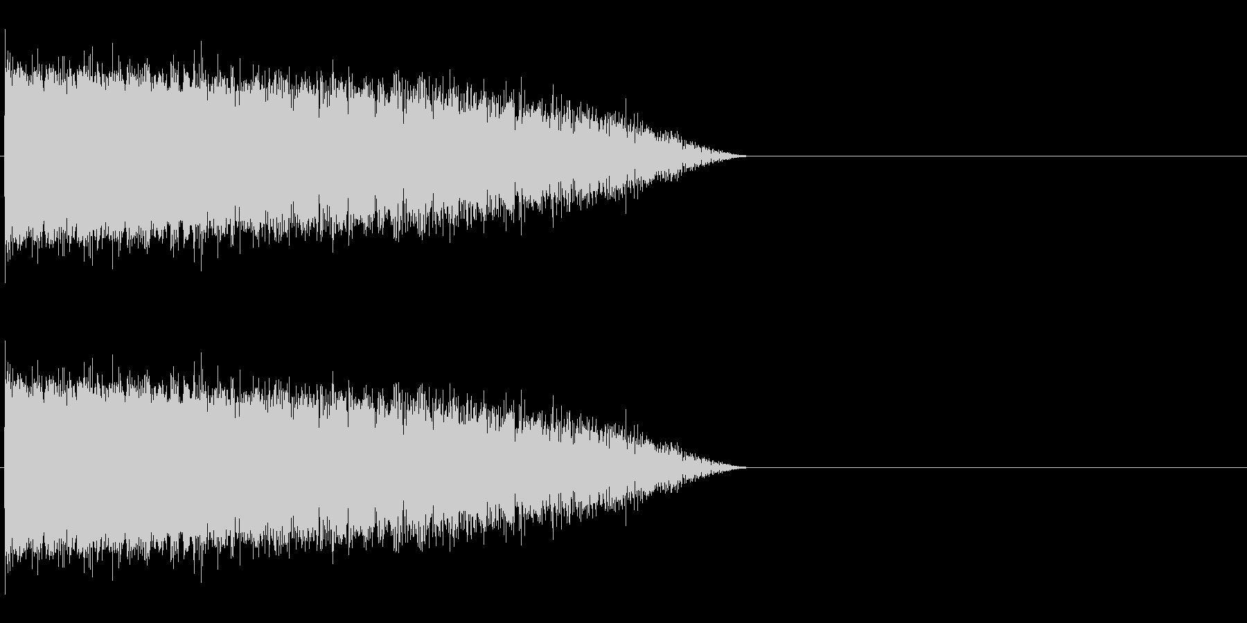 魔法音14の未再生の波形