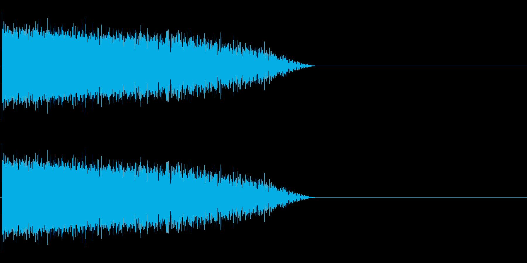 魔法音14の再生済みの波形