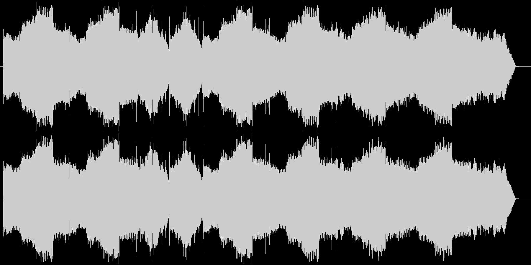 暖かでちょっぴり切ないフルート曲の未再生の波形