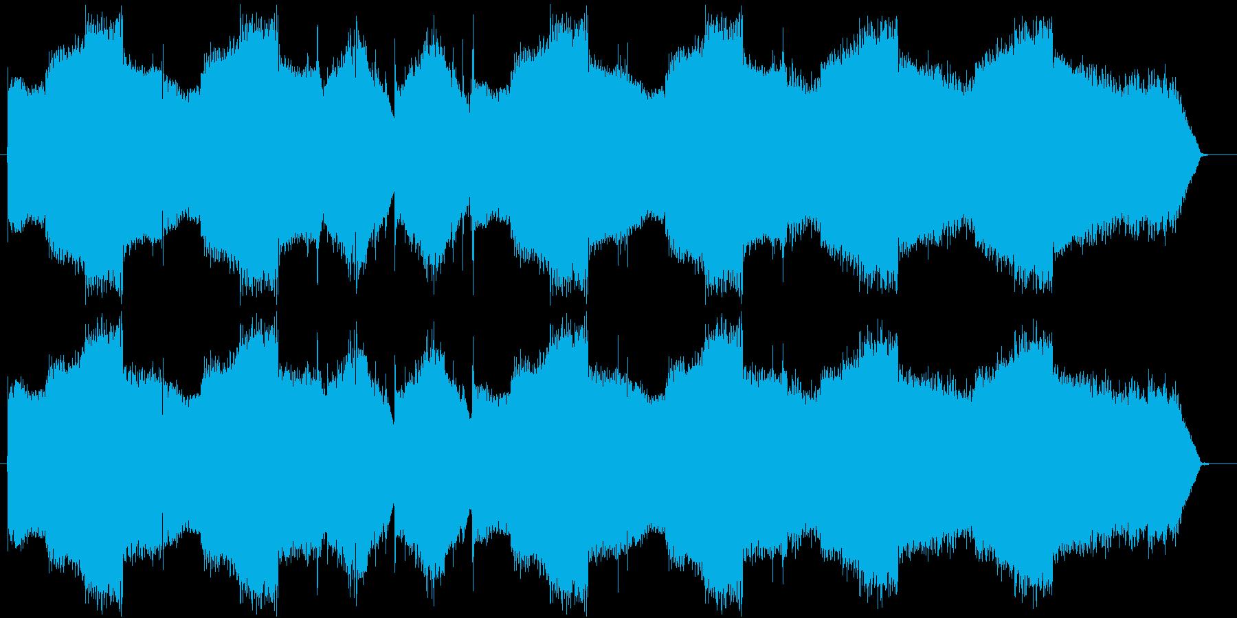暖かでちょっぴり切ないフルート曲の再生済みの波形