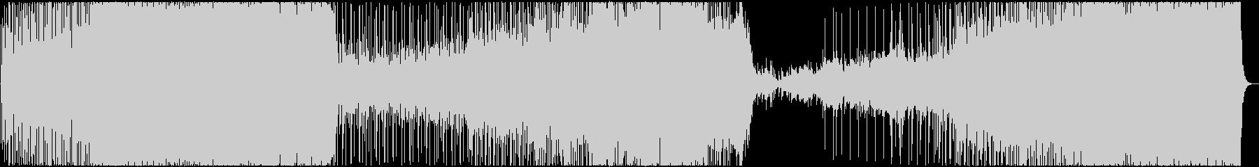 疾走感溢れるピアノロックの未再生の波形