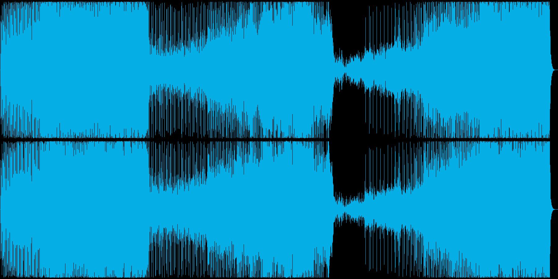 疾走感溢れるピアノロックの再生済みの波形