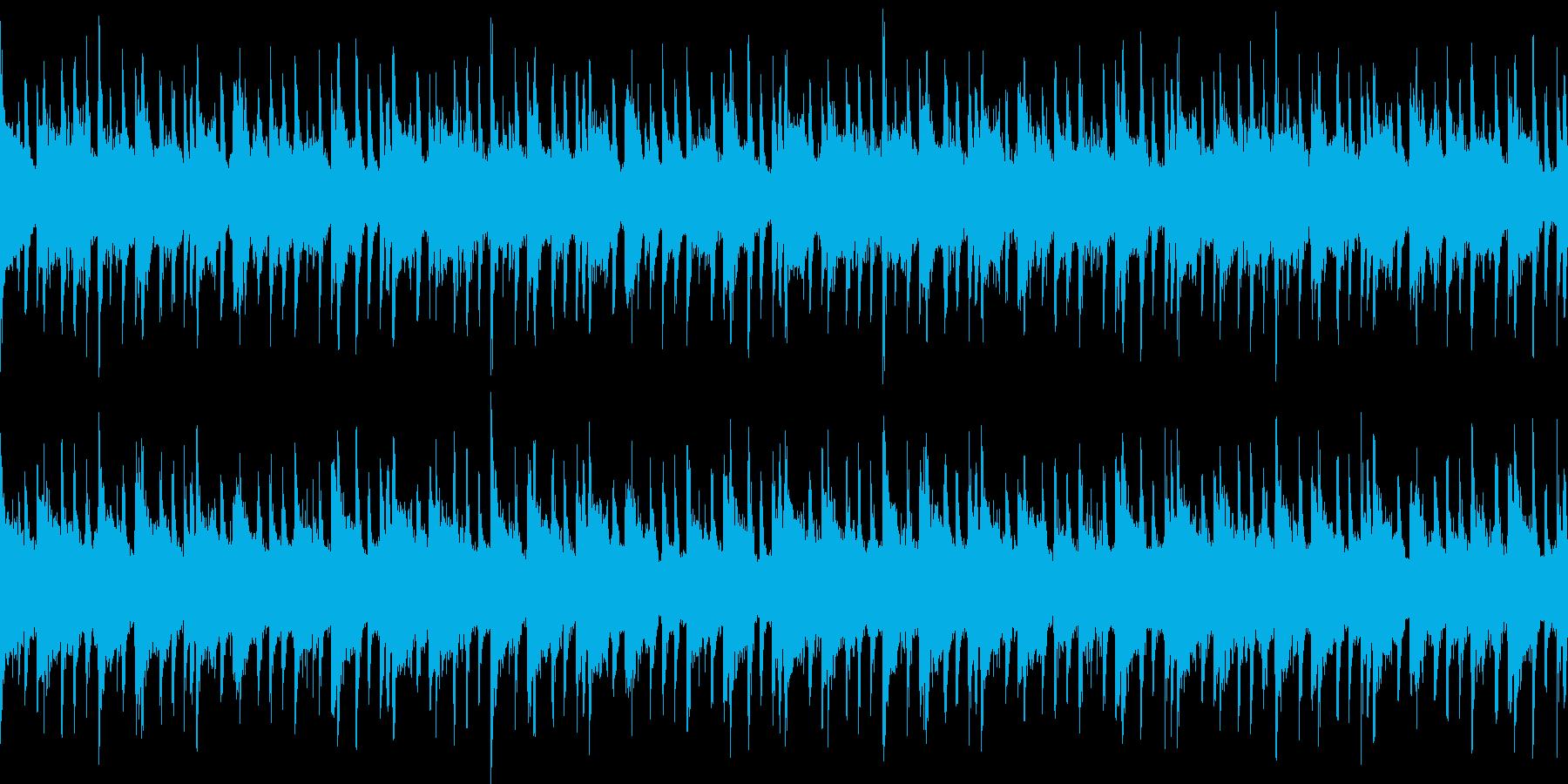 ハウス おしゃれ ループの再生済みの波形