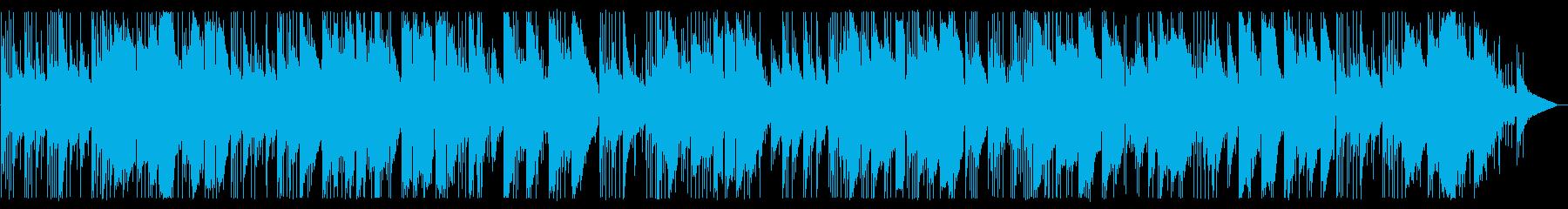 ギターデュオのイージーリスニングの再生済みの波形