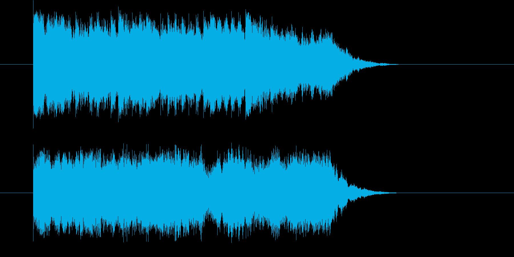 かわいい 星 幻想 メルヘン しっとりの再生済みの波形