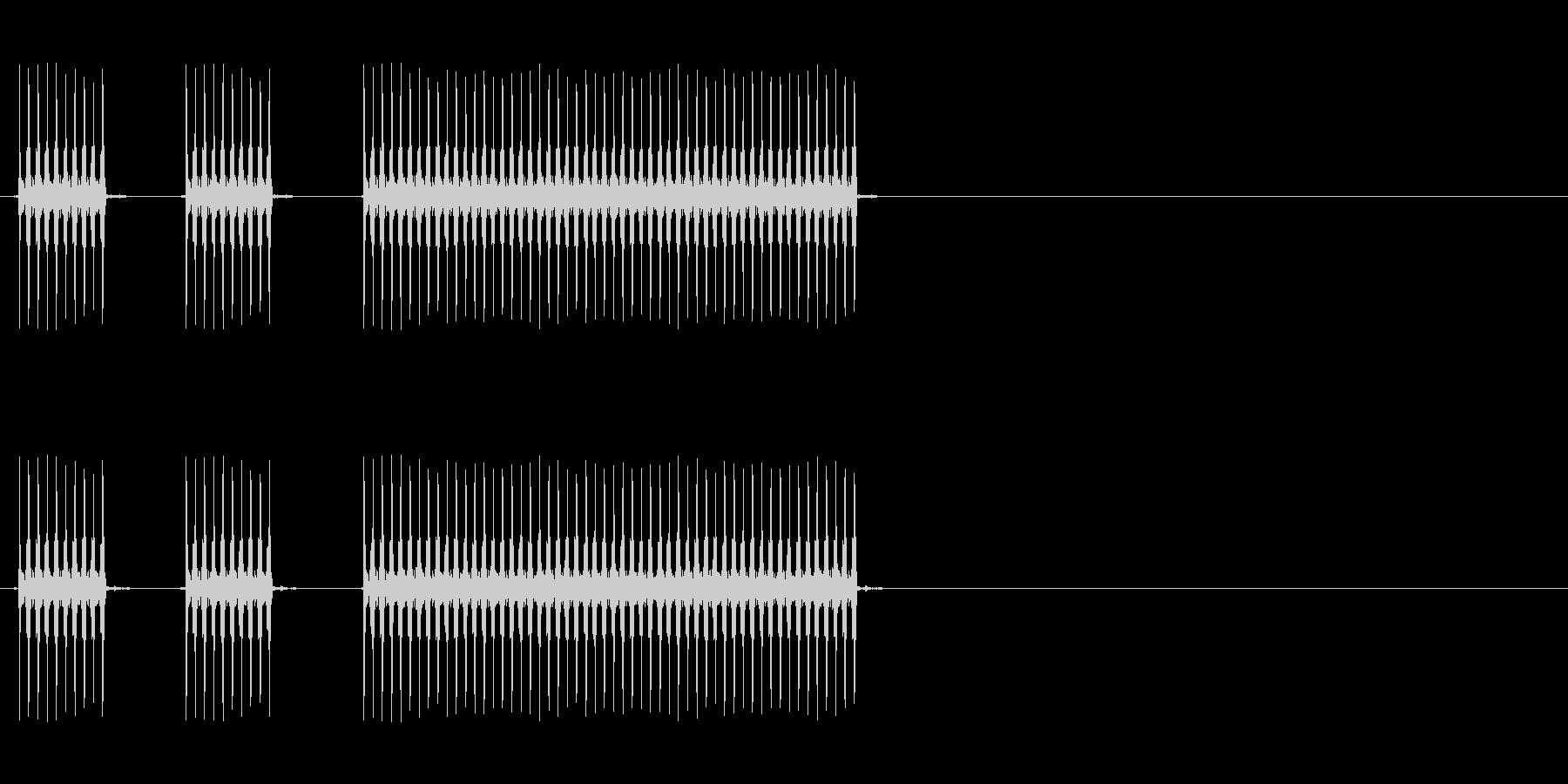 【不正解02-4】の未再生の波形