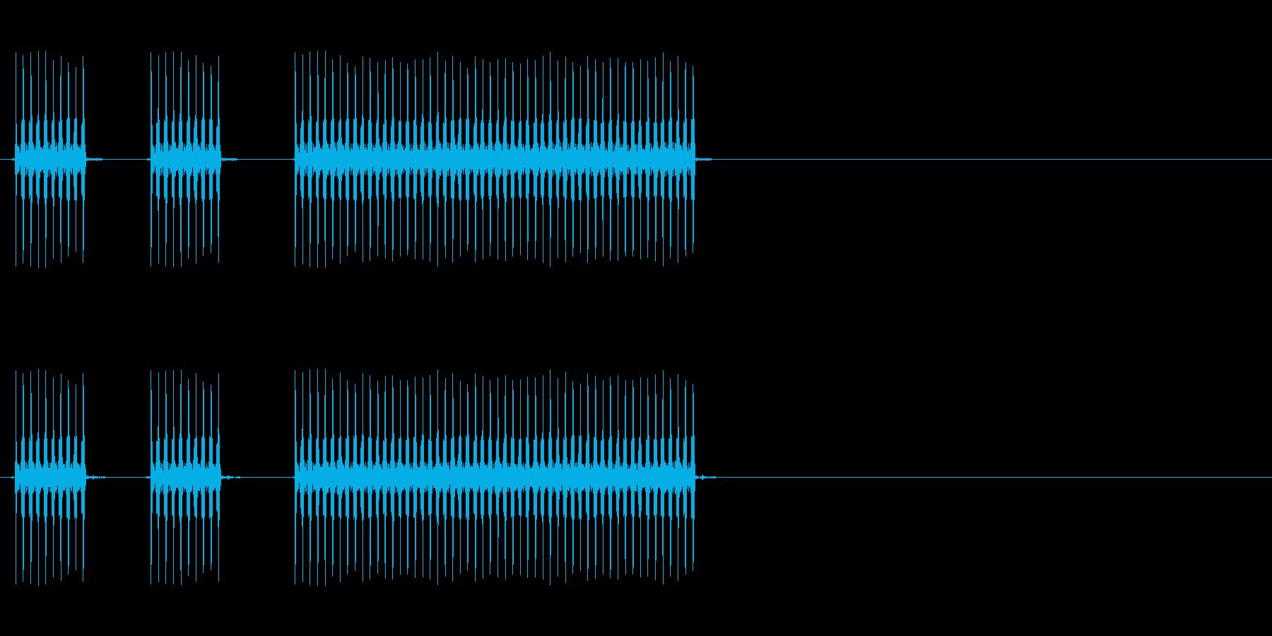 【不正解02-4】の再生済みの波形