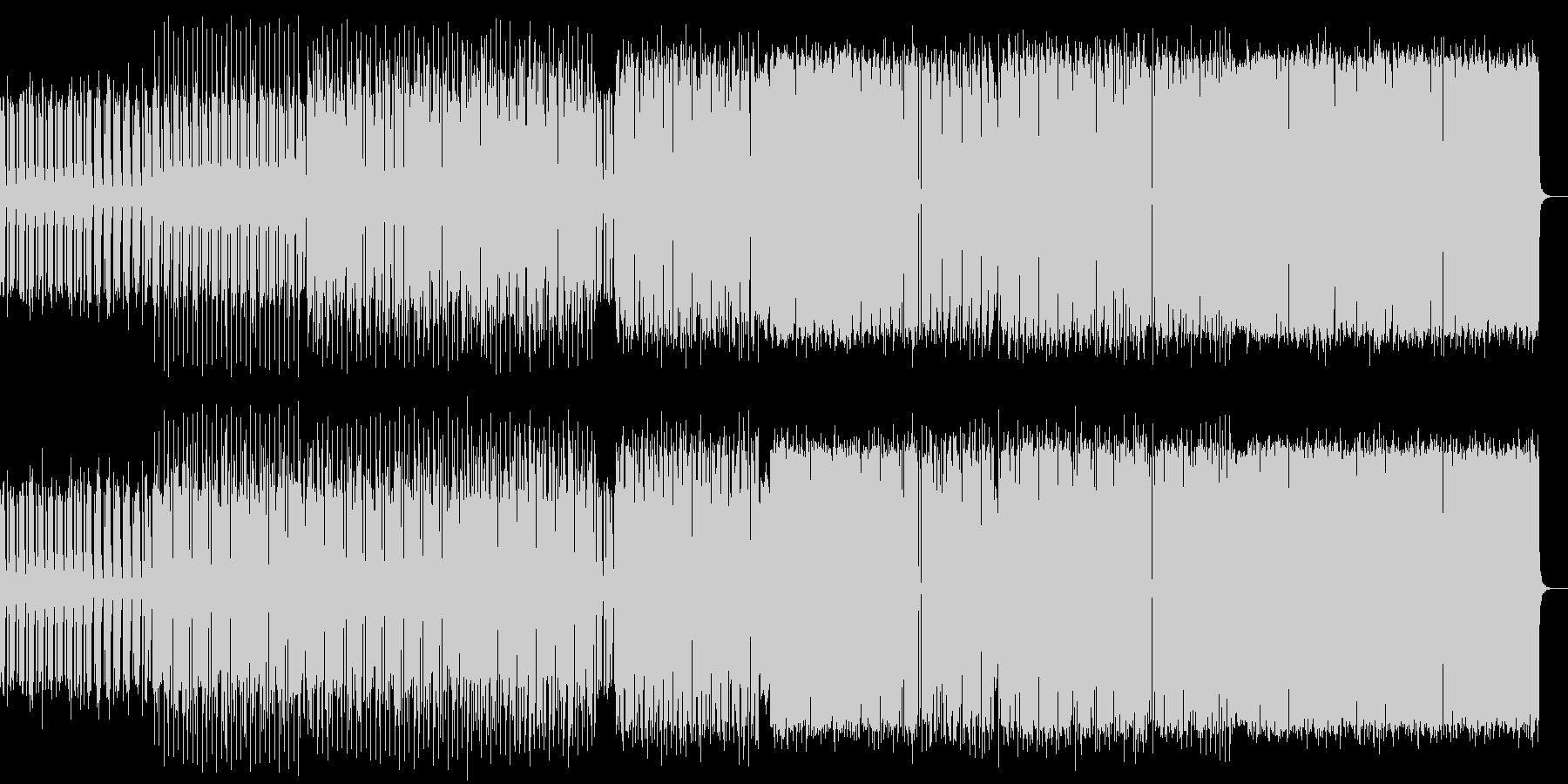 電子音ミニマルの未再生の波形