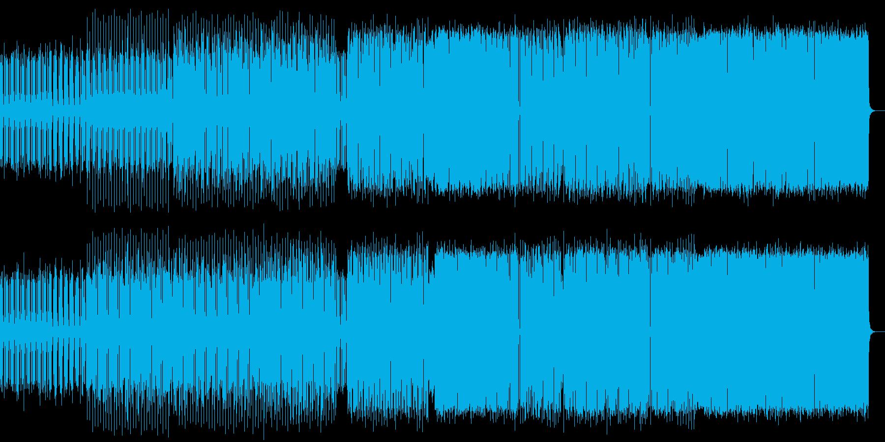 電子音ミニマルの再生済みの波形