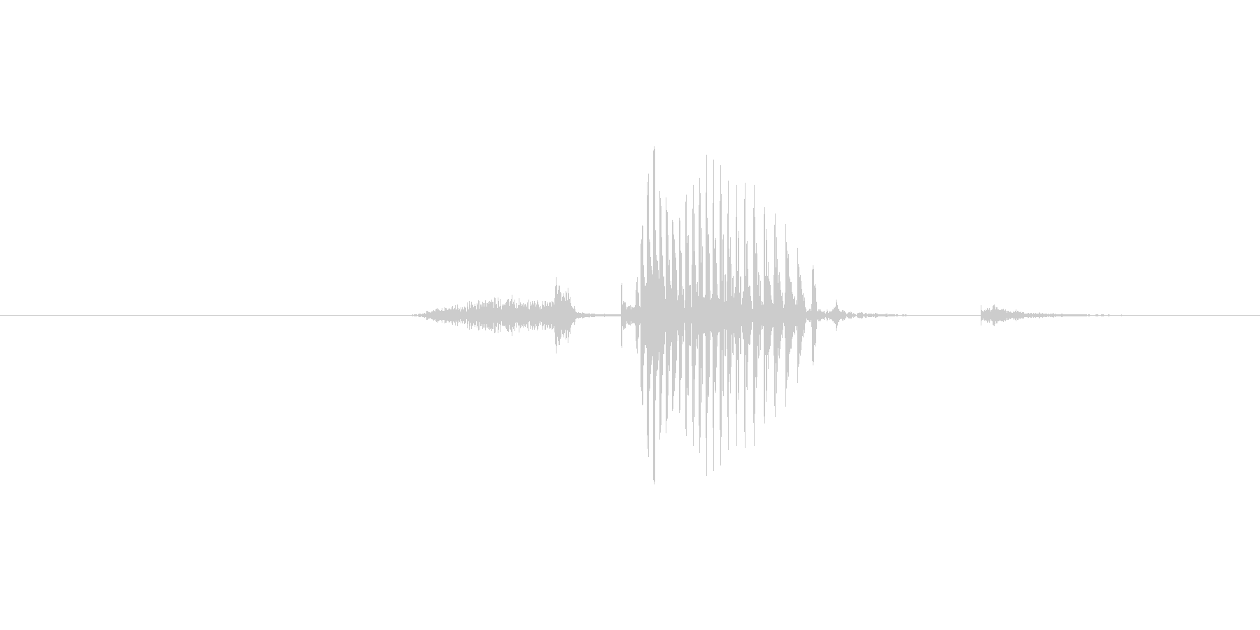 Start (意味/発音:スタート、す…の未再生の波形