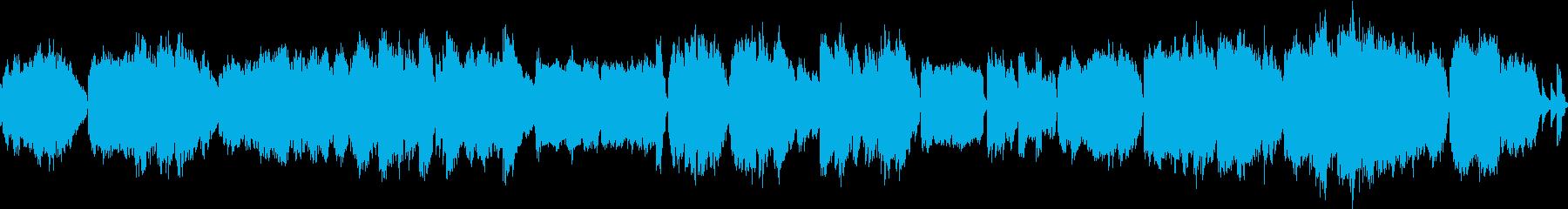 photoやvideoの上映中のBGM…の再生済みの波形