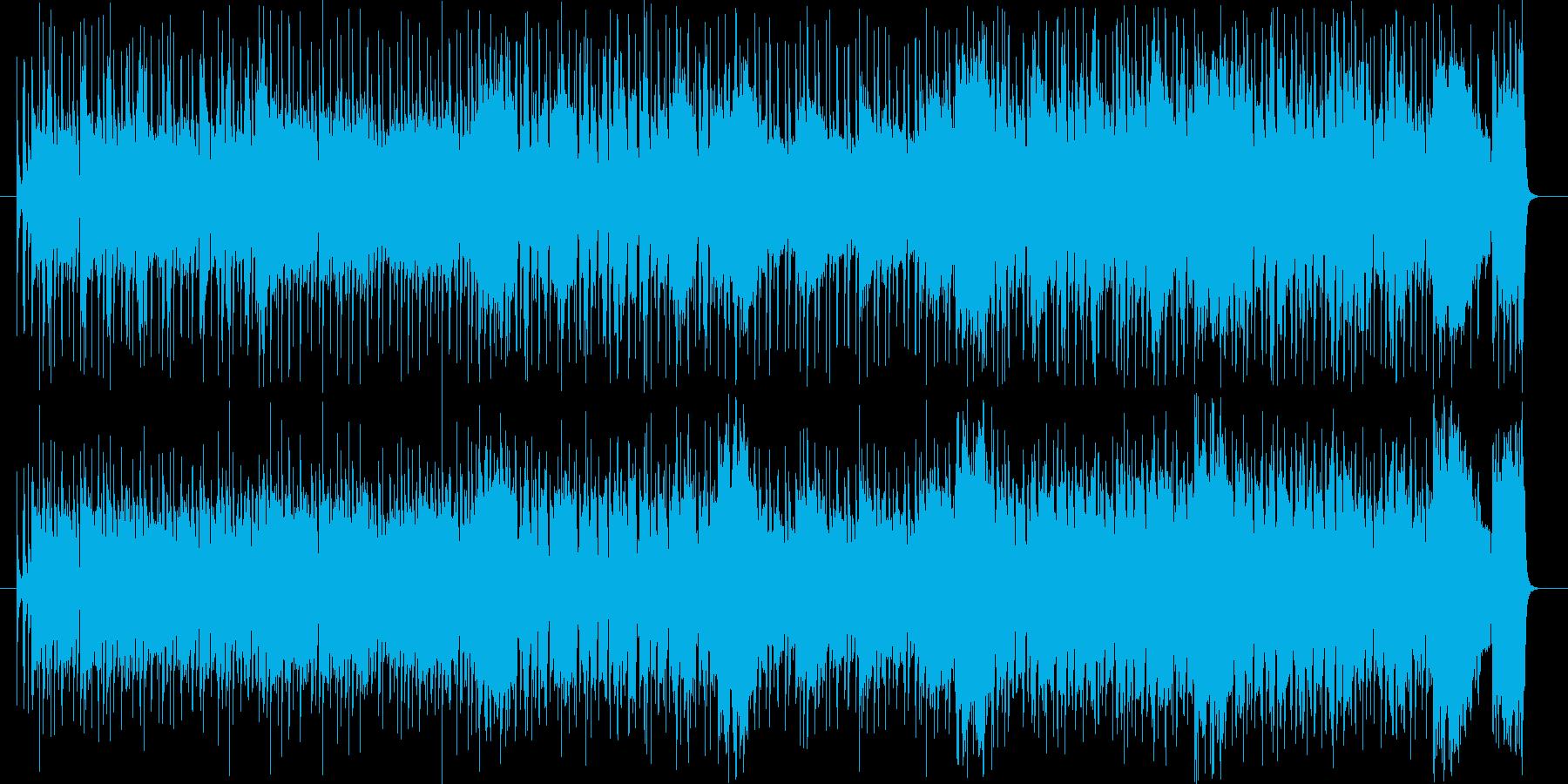 ファンク 躍動 テーマ 元気の再生済みの波形