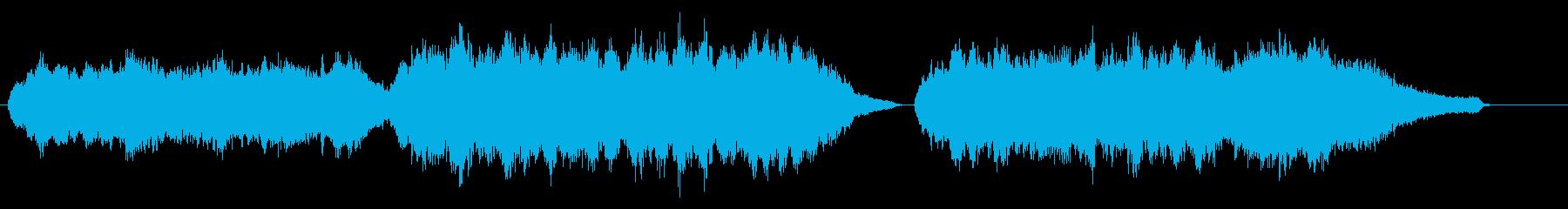 感動的な雰囲気のオーケストラバラードの再生済みの波形