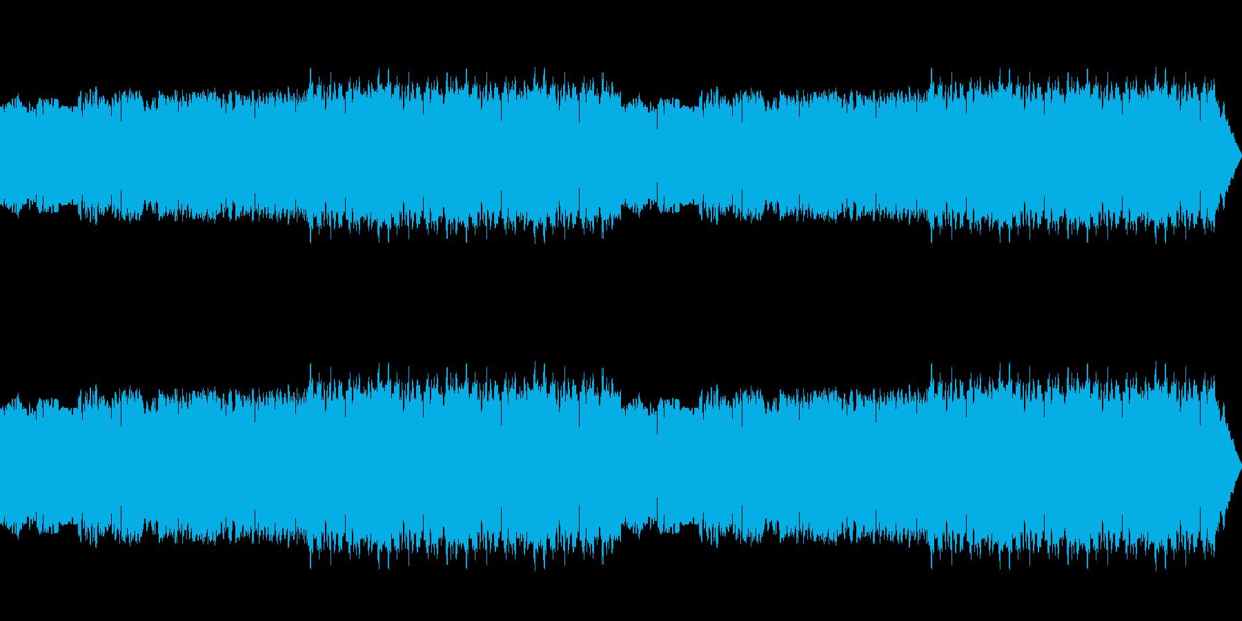 懐かしい雰囲気のフィールドBGMの再生済みの波形