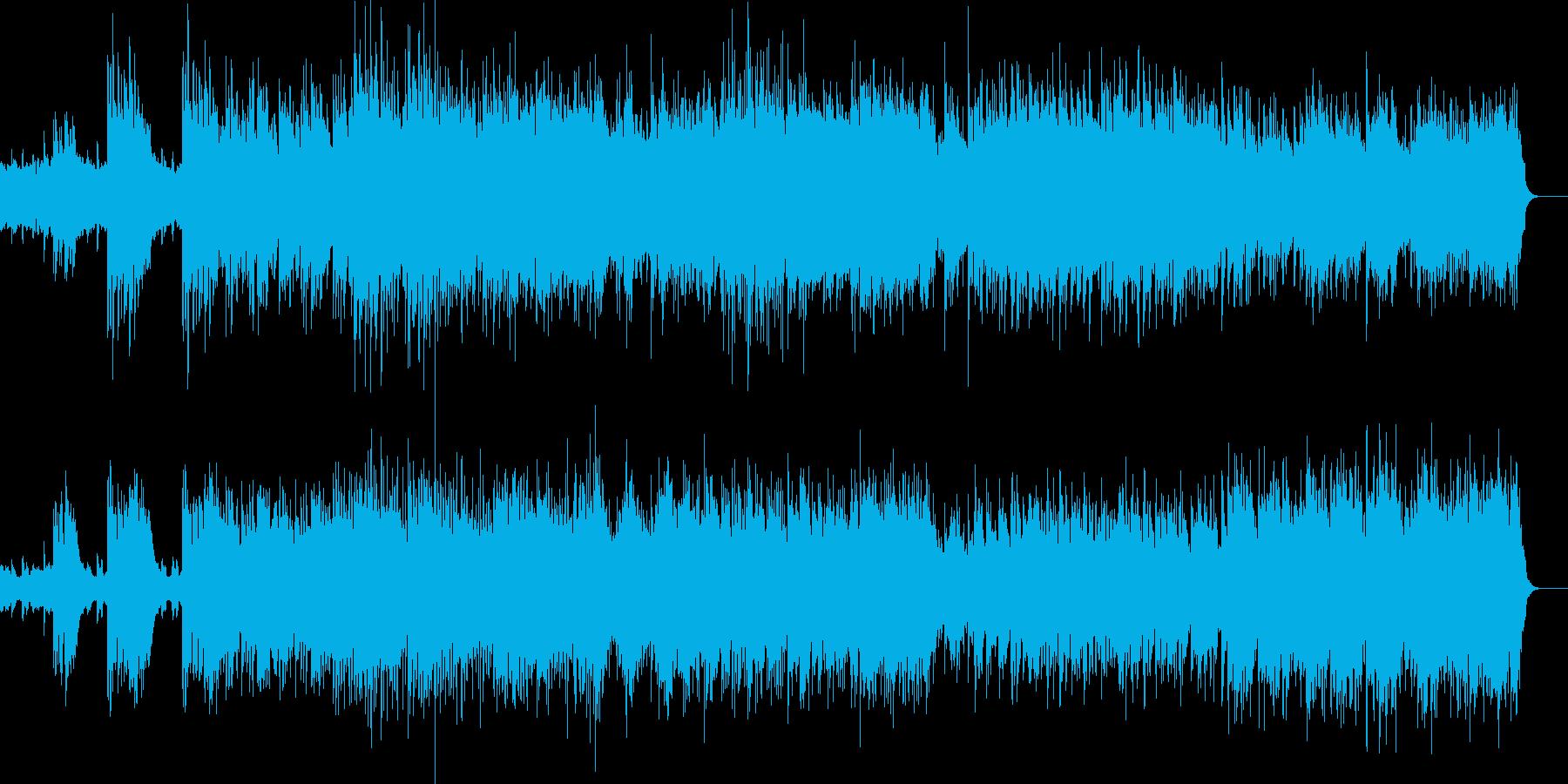 シンフォニエッタよりファンファーレの再生済みの波形
