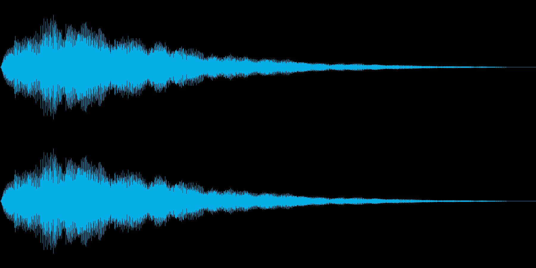 キラキラ(絵本/お知らせ/場面転換)の再生済みの波形