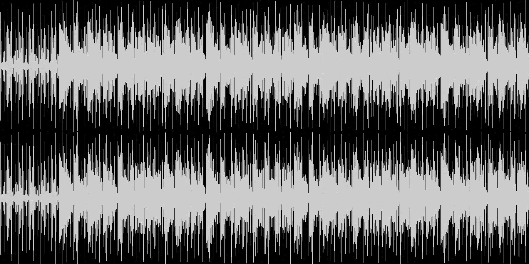 【オシャレなエレクトロピアノJAZZ】の未再生の波形