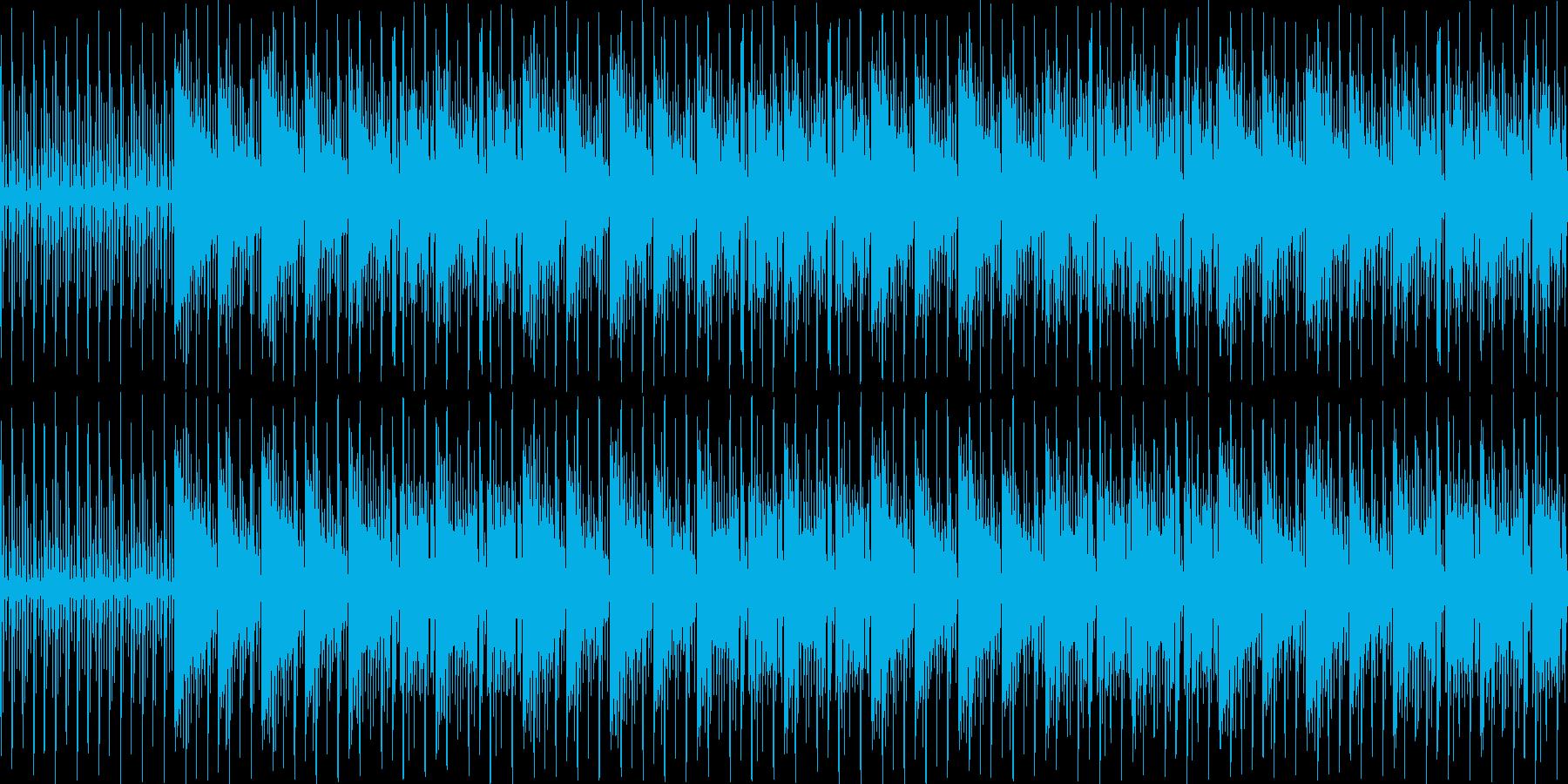 【オシャレなエレクトロピアノJAZZ】の再生済みの波形