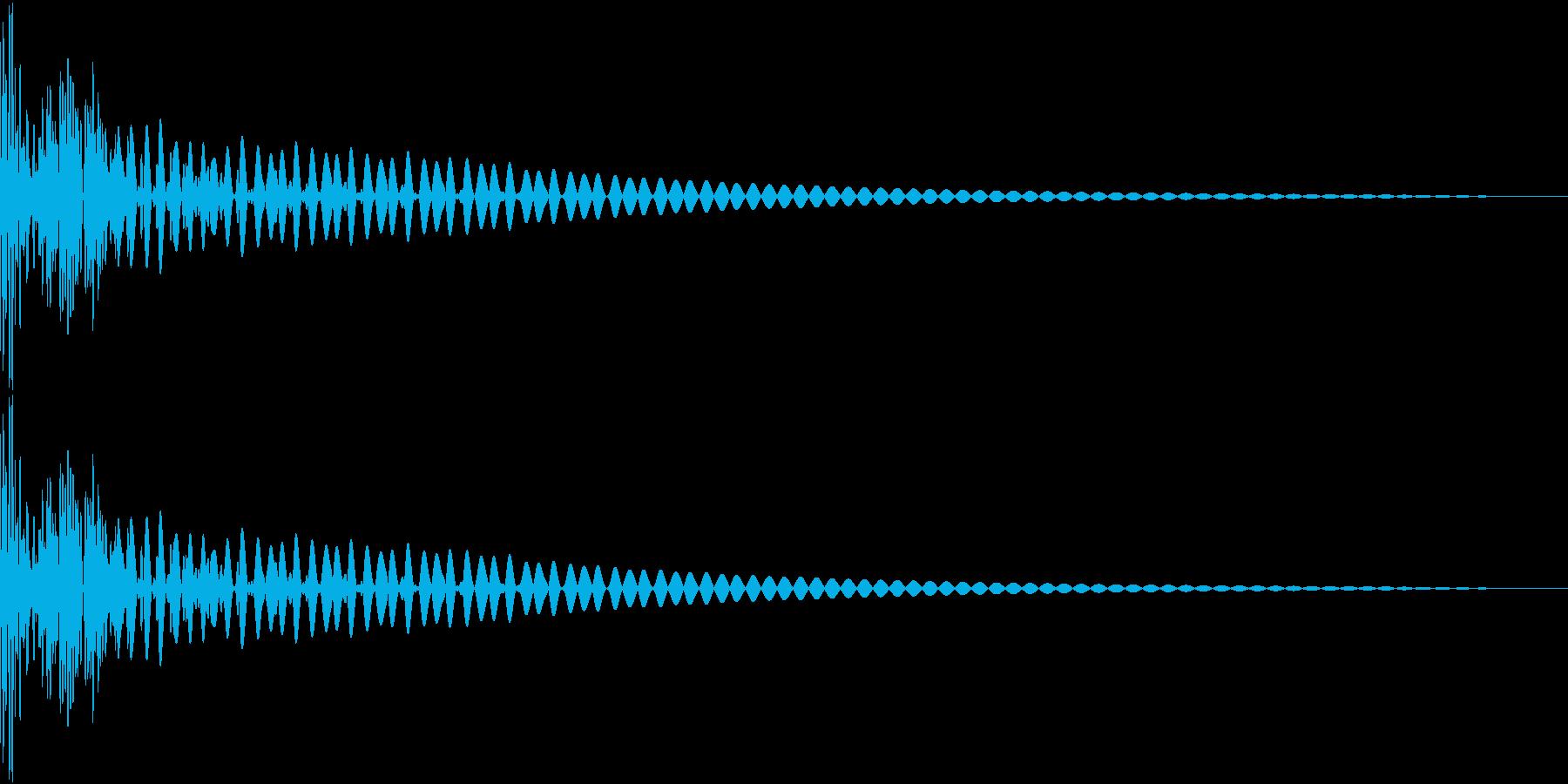 DTM Tom 5 オリジナル音源の再生済みの波形
