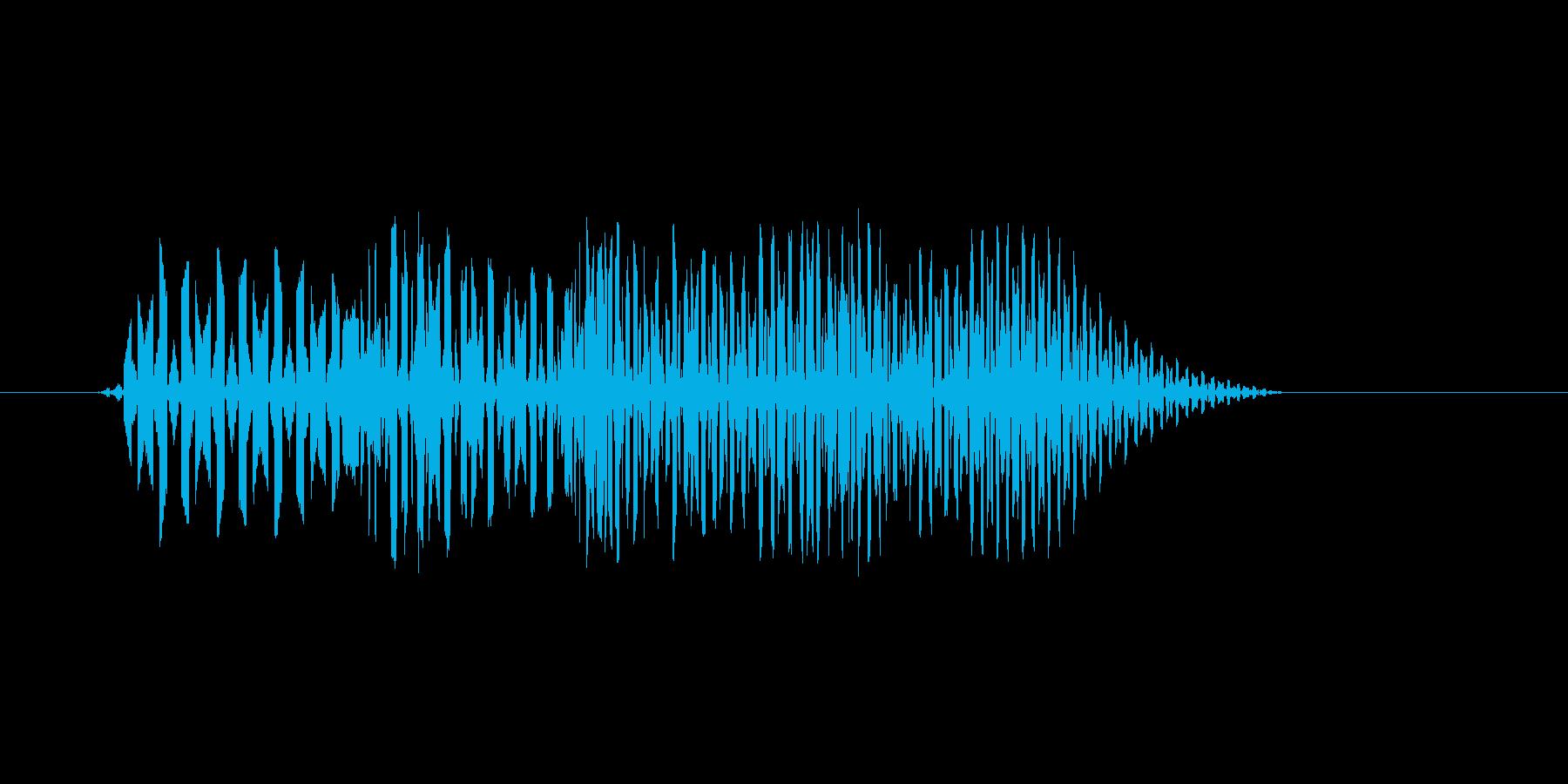 ファミコン風効果音 決定音系です 26の再生済みの波形