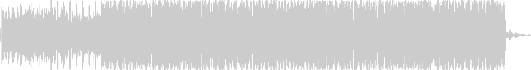 リードシンセとエフェクティブなドラムが…の未再生の波形