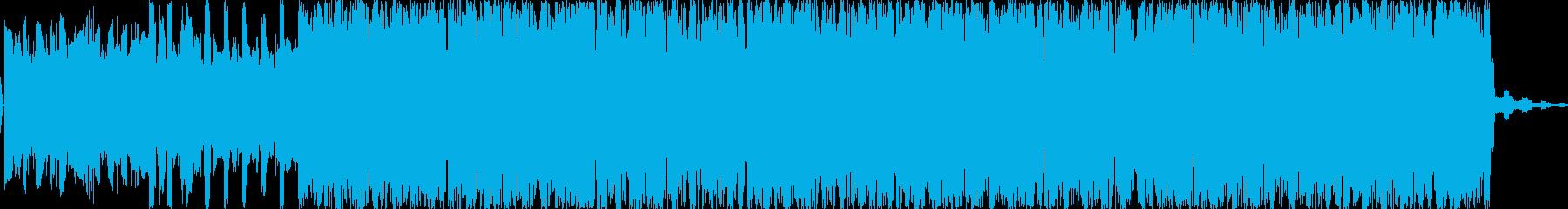 リードシンセとエフェクティブなドラムが…の再生済みの波形