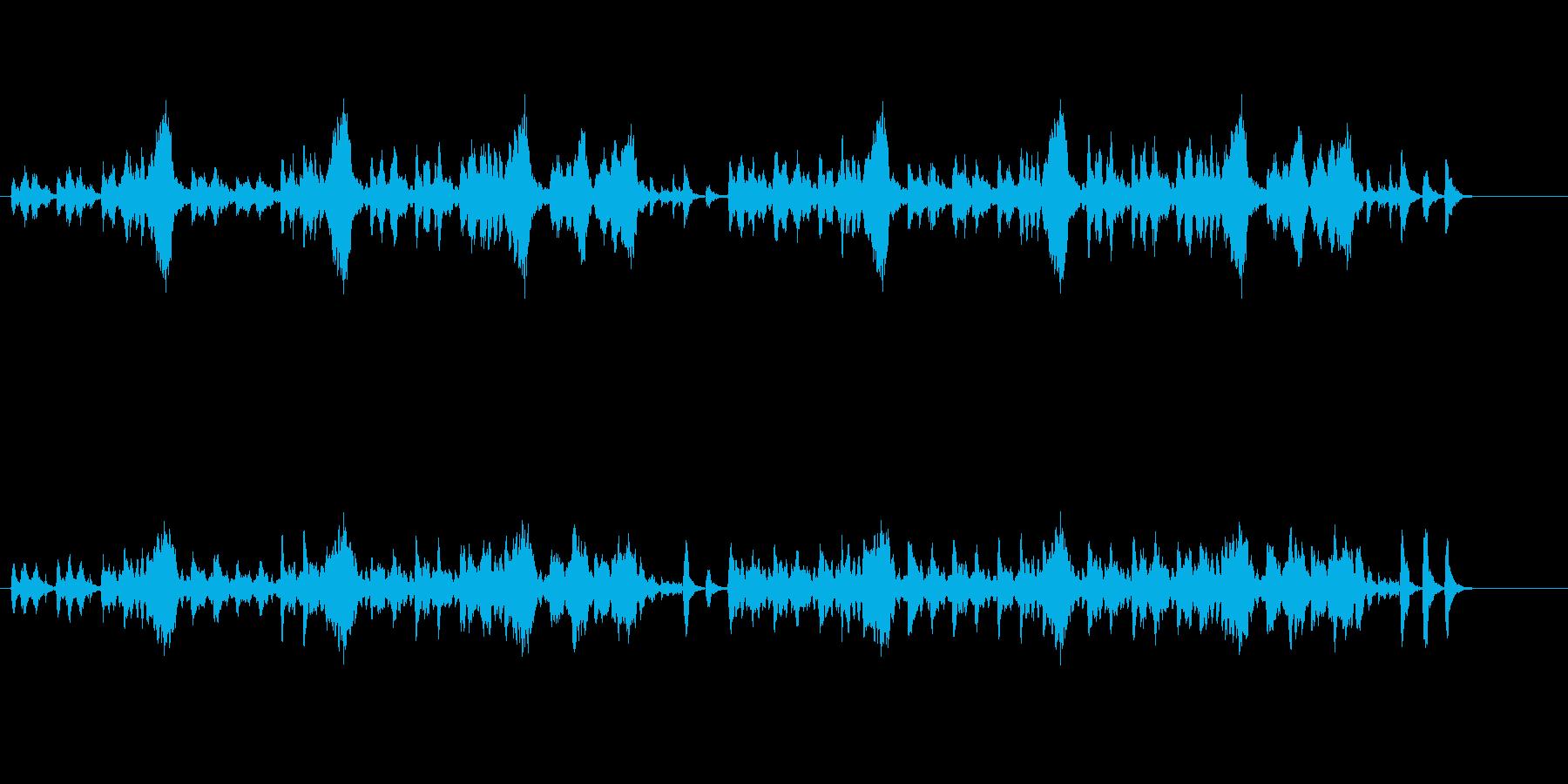 【クラシック】陽気でコミカルなクラシックの再生済みの波形