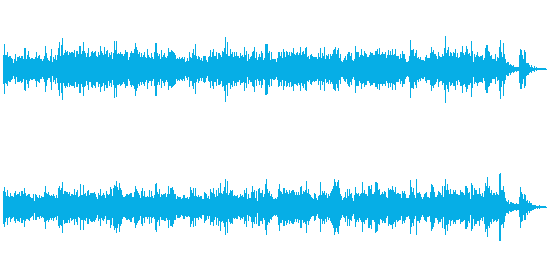 クイズ用考える時間15秒の再生済みの波形