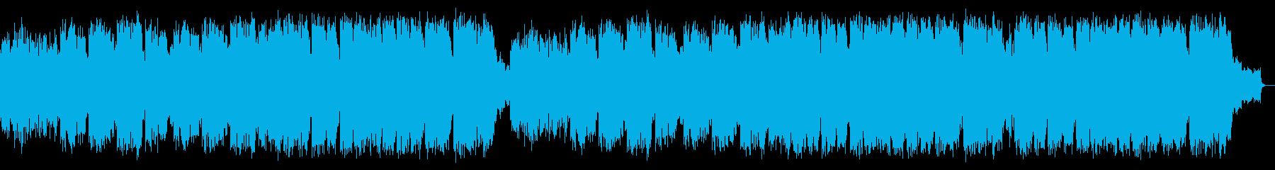 サックスで奏でるゆったり癒される優しい曲の再生済みの波形