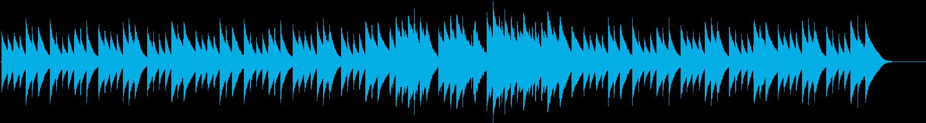 オルゴールのスローバラード。(ジングル…の再生済みの波形