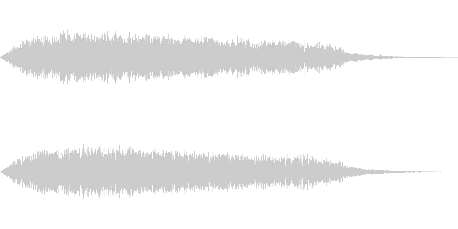 [ギュイーン]チャージ・溜め(鋭く)の未再生の波形