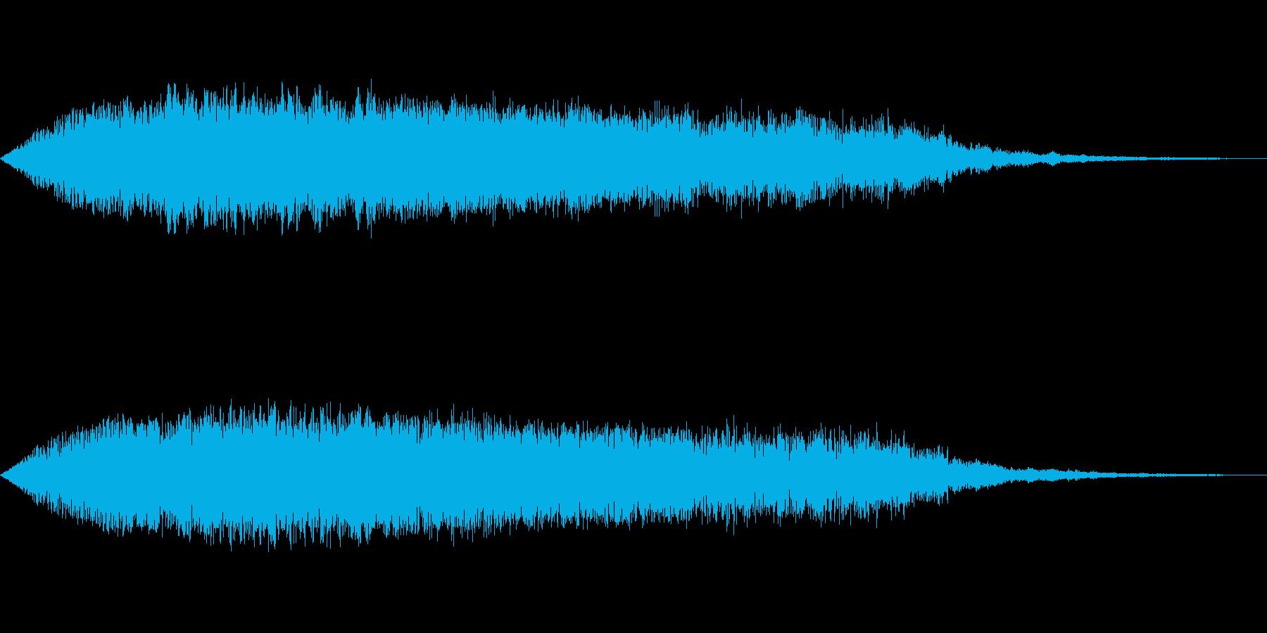 [ギュイーン]チャージ・溜め(鋭く)の再生済みの波形